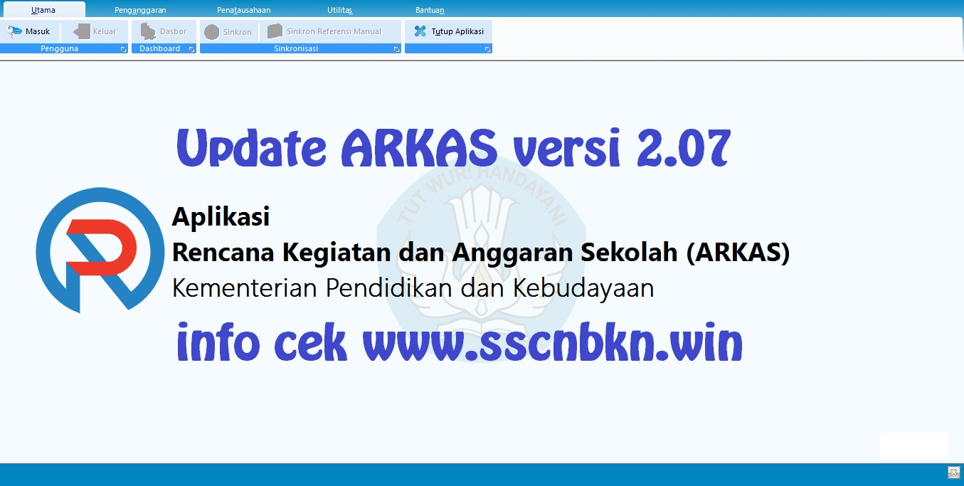 Download Update ARKAS Versi 2.07 Terbaru